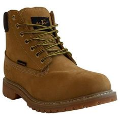 Men's AdTec 1017 6in Waterproof Work Boot Tan (US Men's M (Regular))