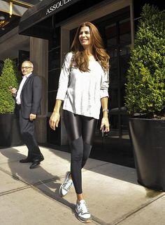 Calzas y tacos: los looks de Juliana Awada en Nueva York | MUSA Classy Outfits, Chic Outfits, Summer Outfits, Fashion Outfits, Unique Fashion, Look Fashion, Casual Chic Style, Look Chic, Bohemian Mode