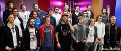Players record a song together 'hala Madrid y nada mas'