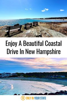 Take a beautiful coastal drive in New Hampshire this summer! We've got the perfect little road trip route. Maine Road Trip, Road Trips, Hampton Beach, Beautiful Roads, Haunted Places, Summer Travel, New Hampshire, Vermont, Travel Ideas