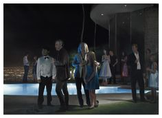 Pool Party. Jonathan Wateridge. Óleo sobre lino. 2010.