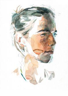Nice Hybrid Portraits Illustrations