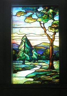 Stained Glass Windows Landscape