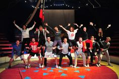 The Havas Sports & Entertainment Global team on their away day at the Micheletti circus, Paris January 2012.
