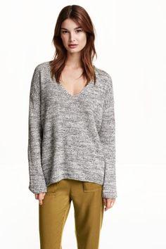 Jersey con escote de pico | H&M