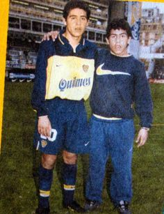 Riquelme & Tevez - Boca Juniors - before they're stars School Football, Football Soccer, International Soccer, Legends Football, Association Football, Football Hall Of Fame, Indoor Soccer, Juventus Fc, Football Pictures
