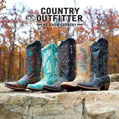 brown & turquoise boots... Love <3