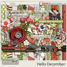 Hello December  Aprilisa  Christmas