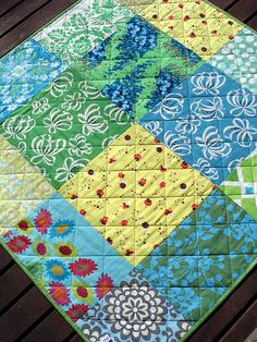 pretty quilt back