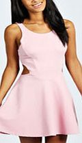 boohoo Cut Out Sides Skater Dress - rose pink azz53887 Skater dresses are a gorgeous shape on any figure, and we love this sleeveless dress with round neckline. It has a nipped in waist to show off your figure, with stunning side cut out details. The skir http://www.comparestoreprices.co.uk/dresses/boohoo-cut-out-sides-skater-dress--rose-pink-azz53887.asp