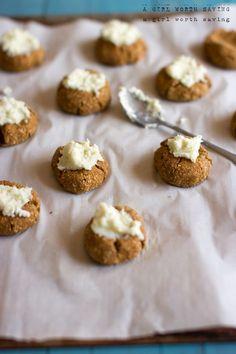 Pumpkin Spice Thumbprint Cookies — A Girl Worth Saving #21DSD #TDay