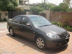 Honda Civic 2005 for Sale in Karachi, Pakistan  http://www.naicar.com/car/4510/