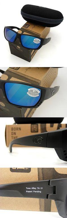 84353746a0 Sunglasses 151543  Costa Del Mar Tuna Alley Blackout And Blue Mirror 580  Glass New 580G