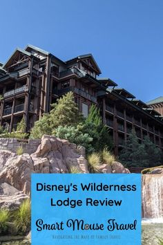Disney's Wilderness Lodge Nature View Room Review - Smart Mouse Travel Disney World Florida, Disney World Resorts, Nature View, Boat Dock, Disney Springs, Water Slides, Magic Kingdom, Wilderness, Family Travel