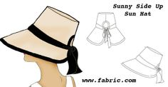 Free Vintage Pattern Sunny Side Up Hat- Scroll down. Pattern near the bottom of…
