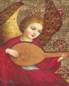 Angels V Art Print