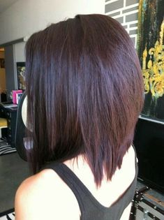 Haare Brown Plum Hair Color Lawn And Landscape Watering Tips Article Body: When it comes to keeping Cute Hairstyles For Medium Hair, Haircut For Thick Hair, Medium Hair Cuts, Short Hair Cuts, Short Hair Styles, Thick Hair Styles Medium, Funky Hairstyles, Hair Cuts Thick Hair, Medium Dark Hair