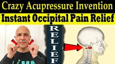 Crazy Acupressure Invention for Instant Occipital/Neck Pain Relief - Dr ...
