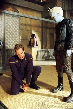 Star Trek: Enterprise. Promo shots. The Andorian...