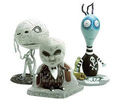 Tim Burton Tragic Toys Toxic Boy PVC Set