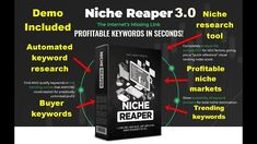 Niche Reaper 3.0 Review -  Find the Most Profitable Niche Markets Way To Make Money, Tools, Marketing, Business, Instruments, Store, Business Illustration