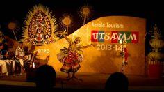 Kerala Tourism UTSAVAM 2013-14 (Seethankan Thullal)