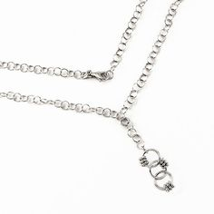 Stříbrný dámský náhrdelník Silvego s kroužky rt5-y3mb-bs Silver, Jewelry, Fashion, Moda, Jewlery, Jewerly, Fashion Styles, Schmuck, Jewels