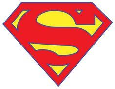 Superman logo vetor clip art projects pinterest clip for Superman logo template for cake