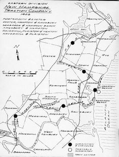 Image Result For Map Of Southern Nh