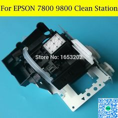 $139.68 (Buy here: http://appdeal.ru/dfjn ) 100% New Original CAP Station PUMP Assembly For Espon Stylus Pro 7800 9800 7880 9880 7450 9450 Printer Cleaning Unit for just $139.68