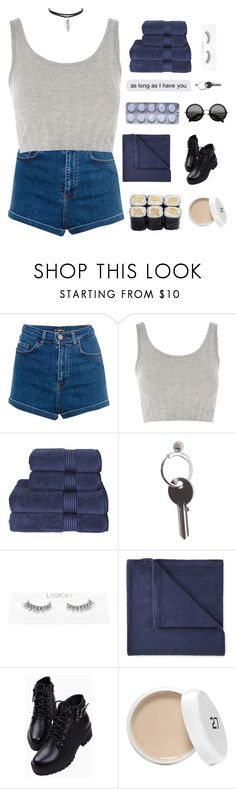 """""""what if the stars line up and it's our last first kiss"""" by titaniium ❤ liked on Polyvore featuring Pull&Bear, Topshop, Christy, Maison Margiela and JCPenney Home"""