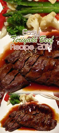 Easy Teriyaki Beef Recipe 2014 – Croquette or croquette made ​​from white potatoes have more attractive flavor with accents sweeter than a potato croquette.
