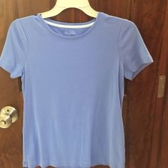 Shop Women's Talbots Purple Blue size S Tees - Short Sleeve at a discounted price at Poshmark. Description: Fantastic color in perfect condition! Eyelet Top, Talbots, Purple, Blue, Tees, Sleeve, Mens Tops, Color, Fashion