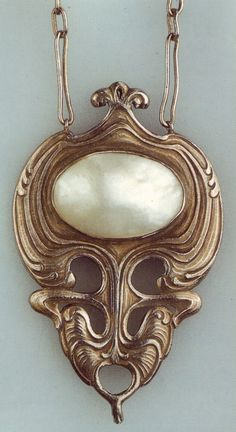 Art Nouveau jewellery. Edward Colonna (American, 1862-1948) | JV