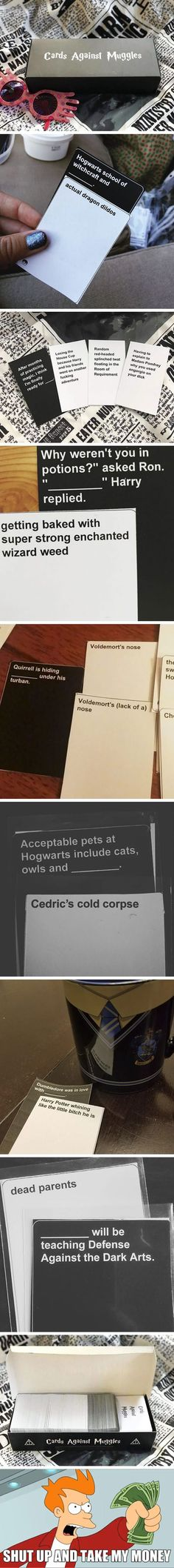 Harry Potter Game 'Cards Against Muggles' Exists And It's Riddikulus