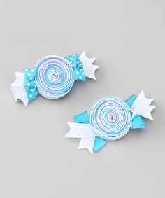Blue Candy Dandy Clip Set   Daily deals for moms, babies and kids