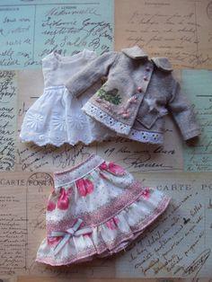 Spring Birdy Outfit Set for Blythe par moshimoshistudio sur Etsy