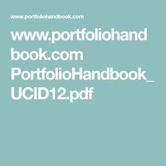 www.portfoliohandbook.com PortfolioHandbook_UCID12.pdf