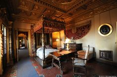In his 80s, Hearst moved from the main building into one of the three guest houses on the property, Casa del Mar. This is his bedroom in Casa del Mar, which had... - Page 24
