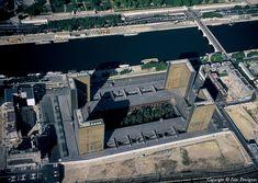 ✈️ Photo aérienne de : Paris - Bibliothèque François Mitterrand - Paris (75)