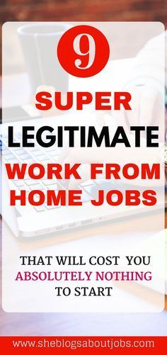 Click this image to read how to find super legitimate work from home jobs with no fees! They do exist!