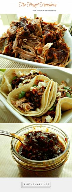 Shredded Mexican Style Pork - For Cinco de Mayo? Or Anytime? You\'ll look like a genius, so just keep quiet about how easy it is! It makes a luscious sauce, so make tostadas, burritos, flautas, Street style tacos! Freezes well, too!