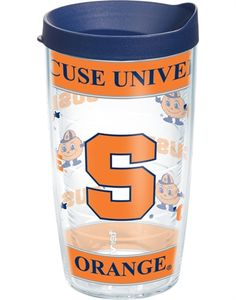 Collegiate | Syracuse University® | Wrap with Lid | Tumblers, Mugs, Cups | Tervis