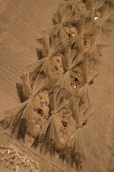 Haute Couture embroidery detail.