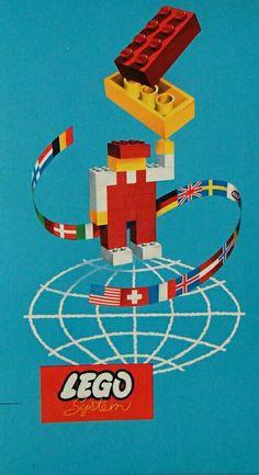 1960s Lego graphic 1960s, Lego, Traditional, Legos