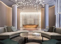 Interior design firm specializing in luxury hospitality, food & beverage and residential spaces. Interior Staircase, Lobby Interior, Luxury Interior, Interior Design, Hotel Lounge, Lobby Lounge, Condo Floor Plans, Hotel Lobby Design, Most Luxurious Hotels