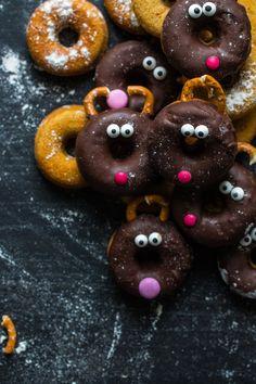 Rentier Donuts {Rudolf zum Anknabbern} frauzuckerstein.de
