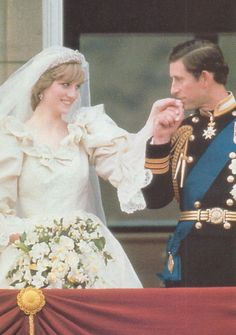 Charles And Diana, Prince Charles, Diana Wedding, Princes Diana, Lady Diana Spencer, Royal Weddings, I Got Married, Royals, Marriage