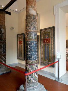 Naples Archaeology Museum - Pompeii Mosaic Work