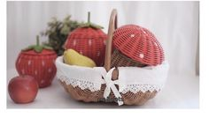 rattan baskets Rattan Basket, Baskets, Weaving, Inspiration, Design, Wicker, Paper, Biblical Inspiration, Basket